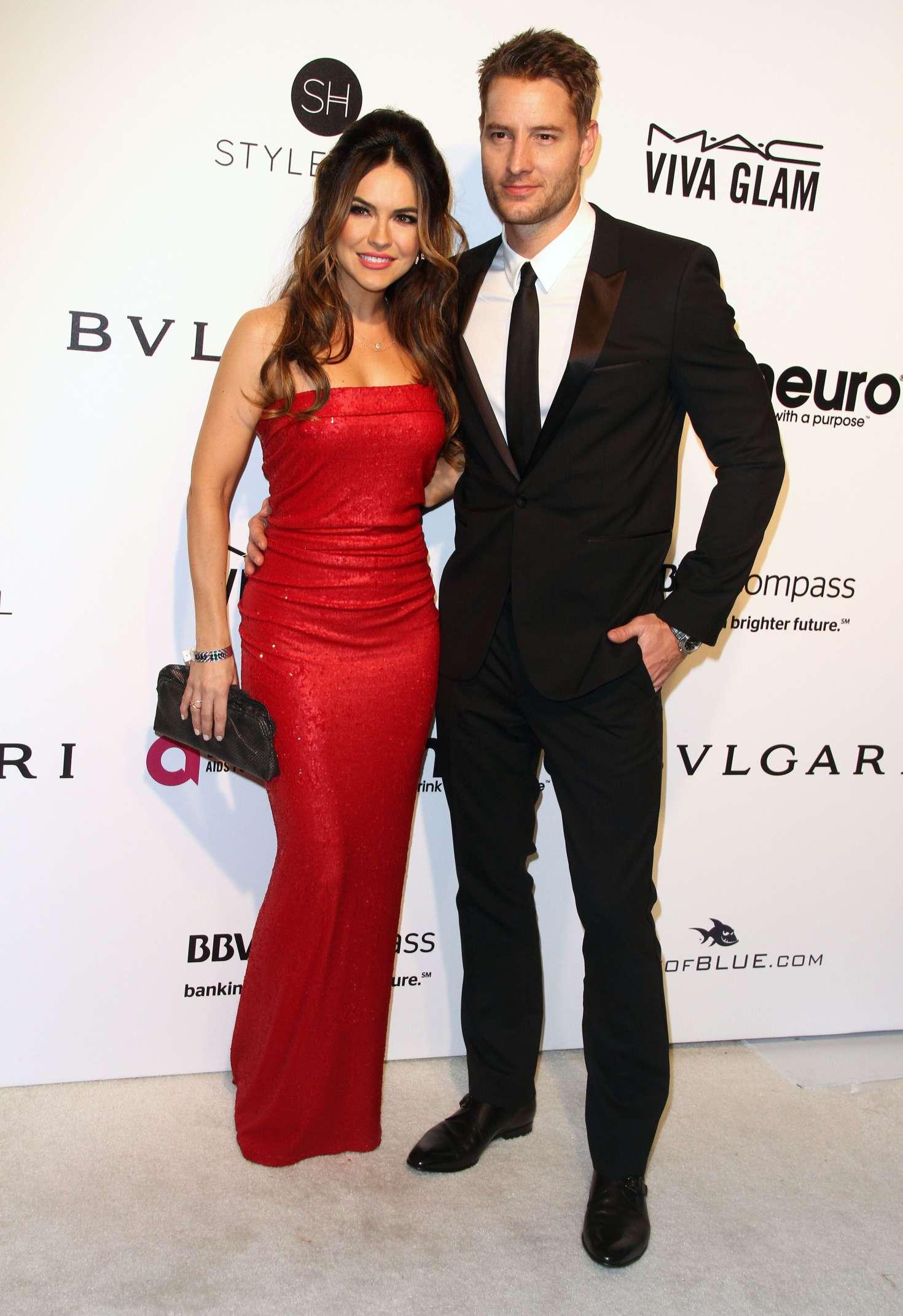 Chrishell Stause 2017 : Chrishell Stause: 2017 Elton John AIDS Foundations Oscar Viewing Party -05