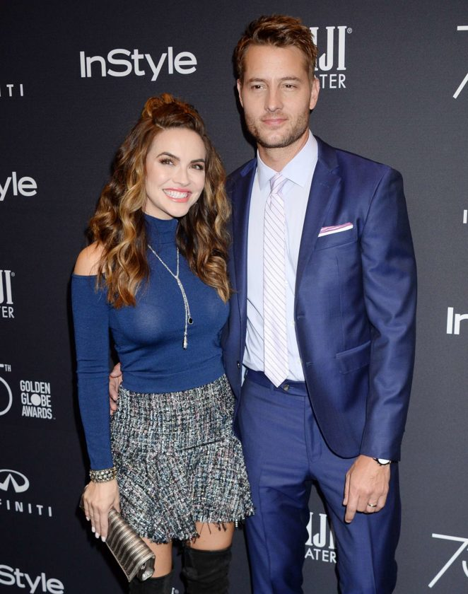Chrishell Stause - 2017 HFPA and InStyle Golden Globe Season in LA