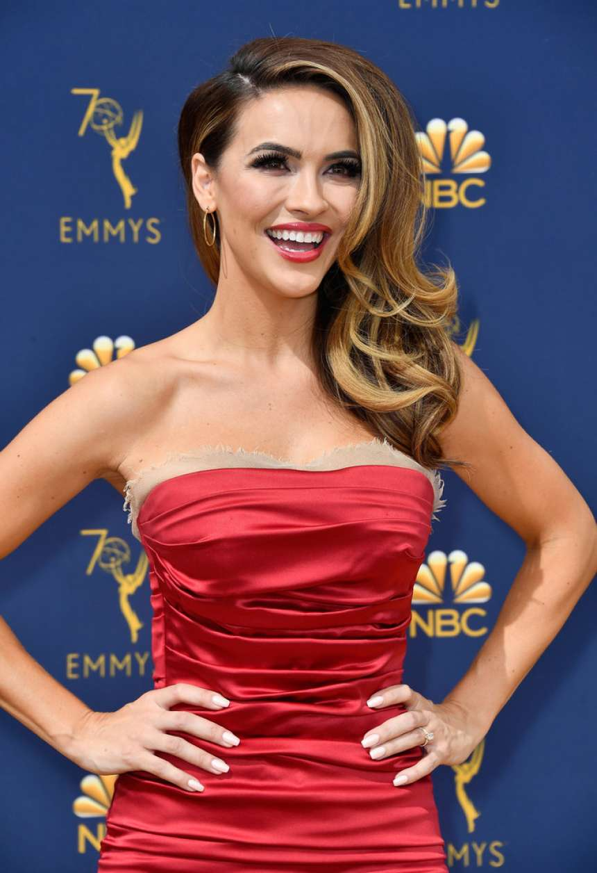 Chrishell Stause - 2018 Emmy Awards in LA