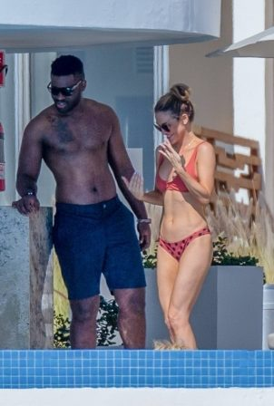 Chrishell Stause and Cassie Scerbo – In a bikinis with their boyfriends in Cabo San Lucas
