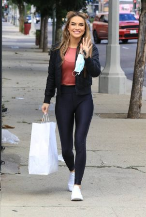 Chrishell Stause - At the DWTS Studio in Los Angeles