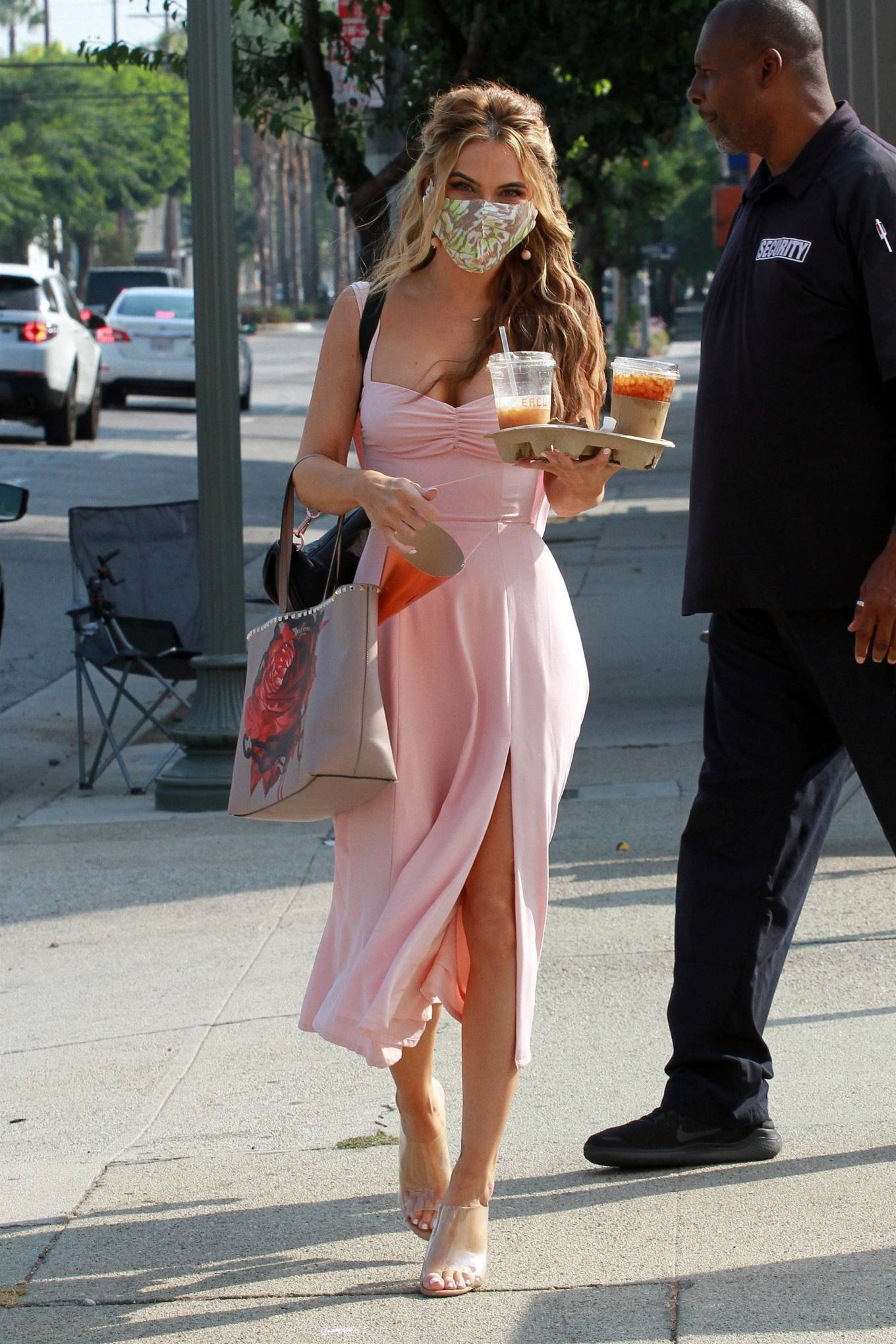 Chrishell Stause 2020 : Chrishell Stause – Heads to the DWTS studio in LA-12