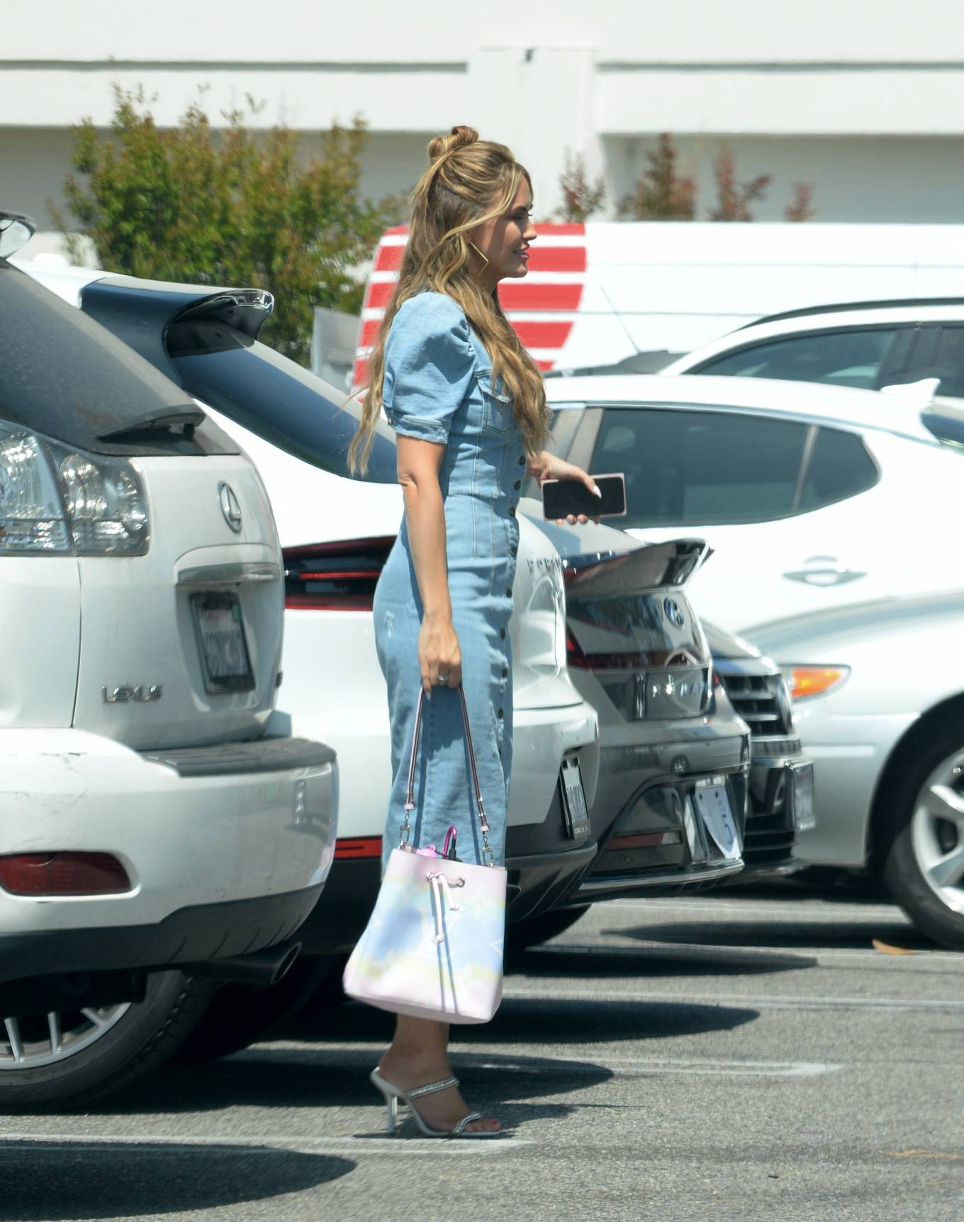 Chrishell Stause 2021 : Chrishell Stause – Leaving her office in Los Angeles-07