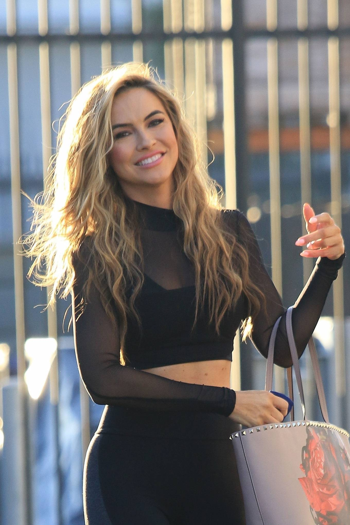 Chrishell Stause 2020 : Chrishell Stause – Look Sporty at DWTS studio in Los Angeles-08