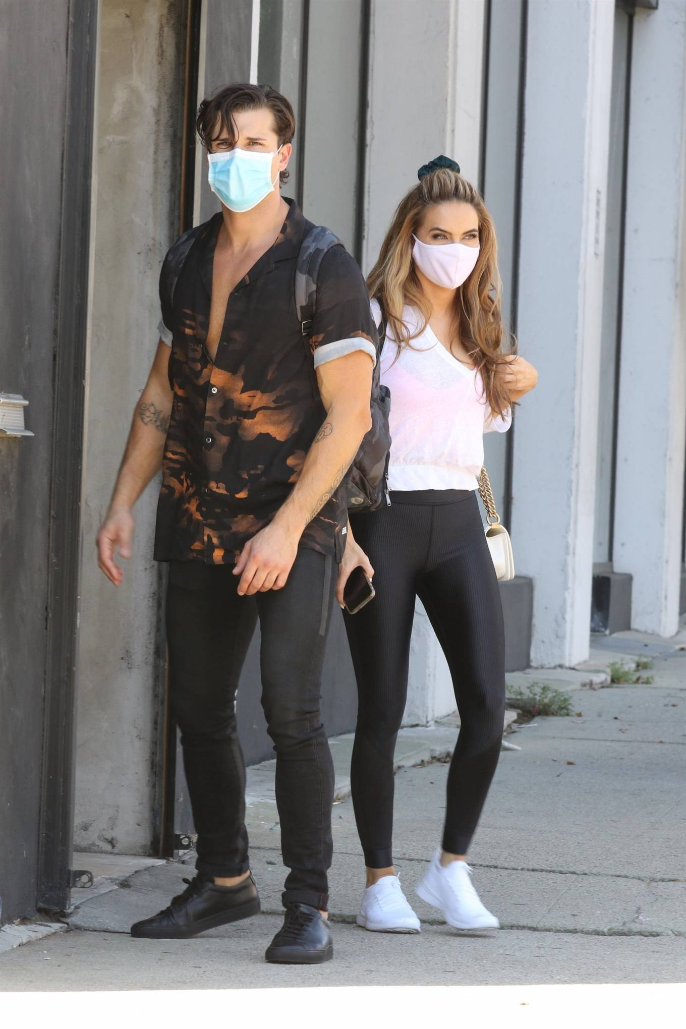 Chrishell Stause 2020 : Chrishell Stause – Seen after her dance practice in Los Angeles-03