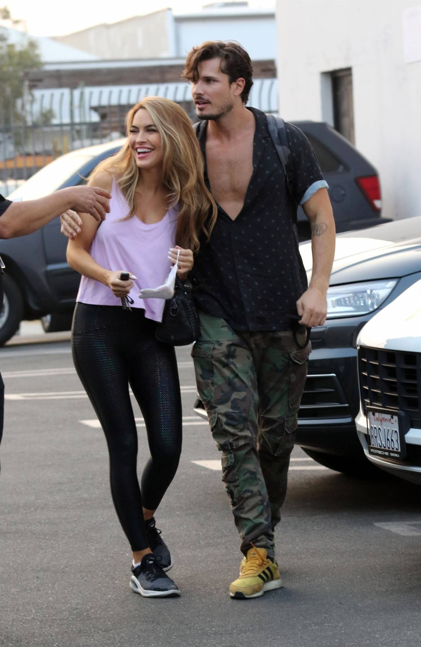 Chrishell Stause - Seen at DWTS studio in Los Angeles