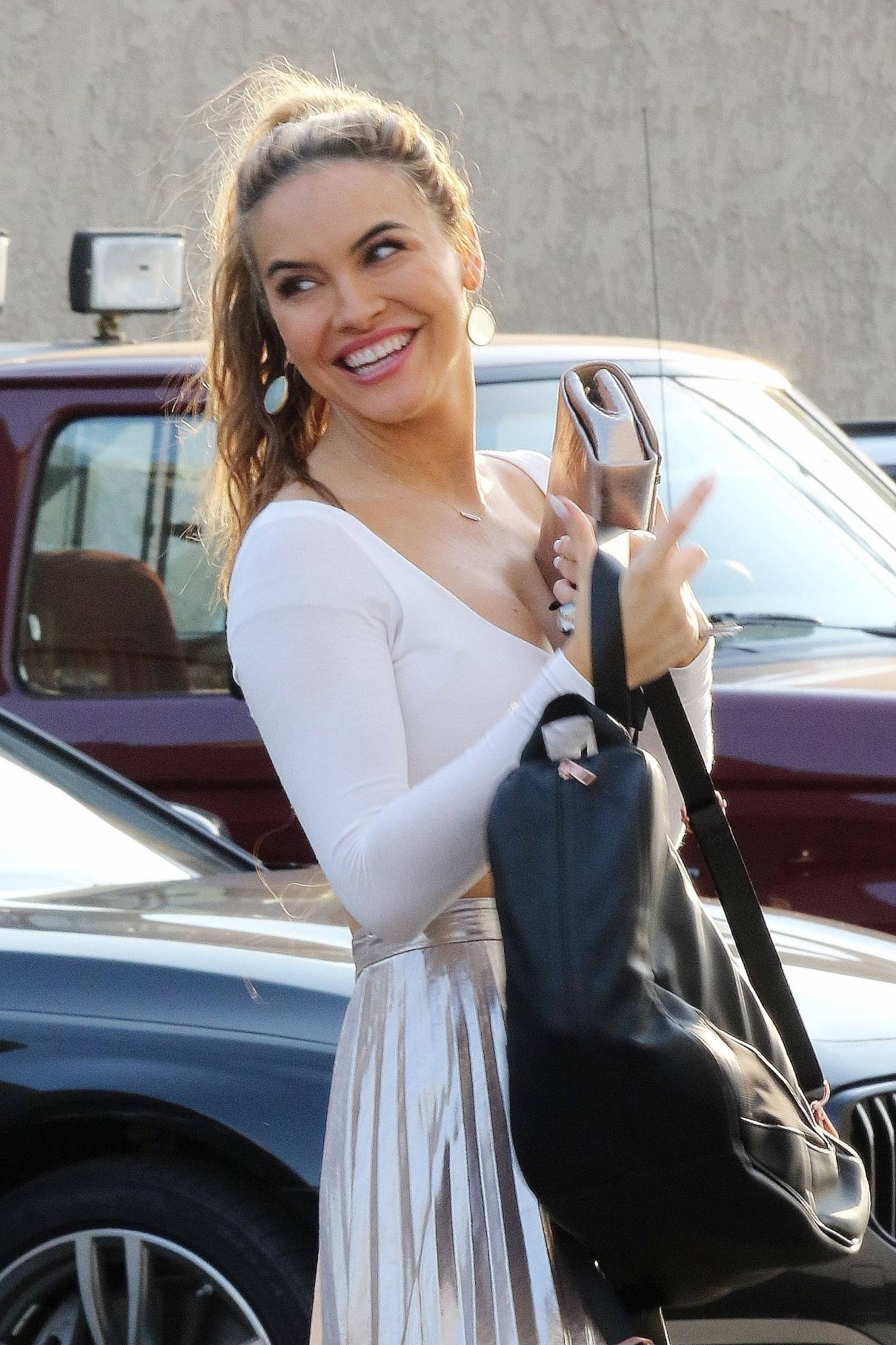 Chrishell Stause 2020 : Chrishell Stause – Seen Leaving the DWTS studio in Los Angeles-15