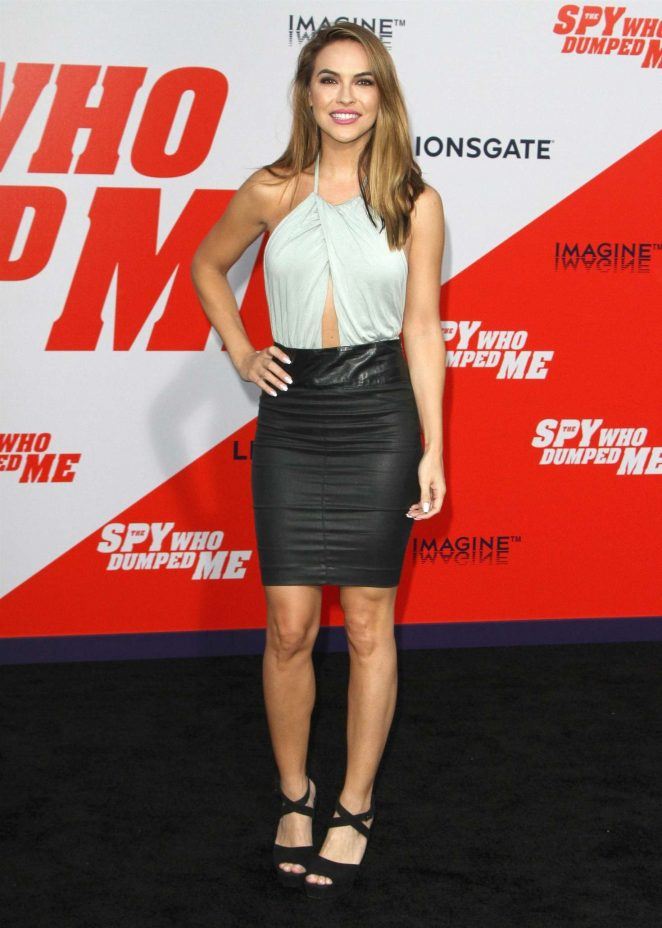 Chrishell Stause - 'The Spy Who Dumped Me' Premiere in Los Angeles