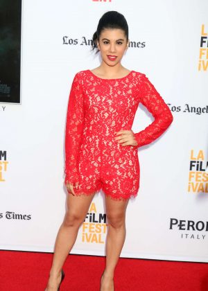 Chrissie Fit - 'The Conjuring 2' Premiere at 2016 Los Angeles Film Festival in LA