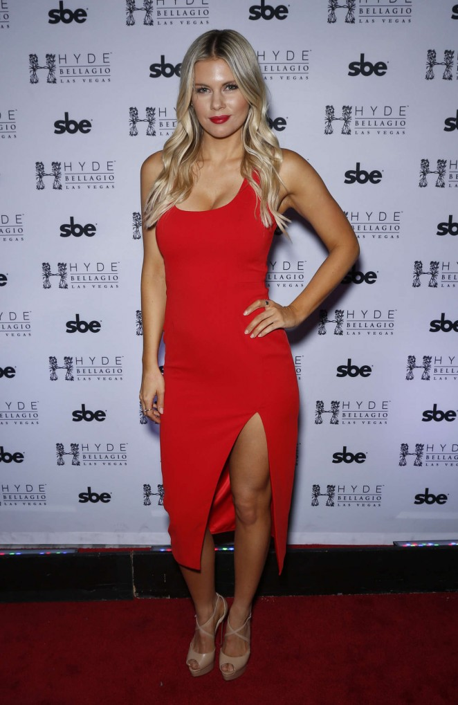 Chrissy Blair - UFC Octagon Girls take over Hyde Bellagio in Las Vegas