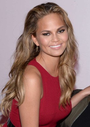 Chrissy Teigen - 2015 Leather & Laces Super Bowl XLIX Party in Phoenix