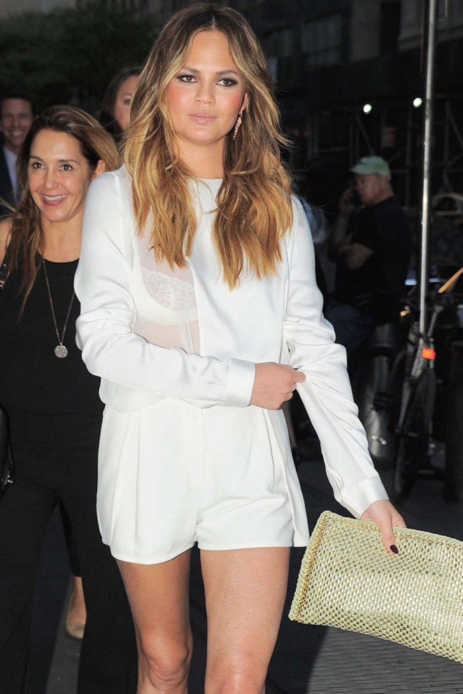 Chrissy Teigen - 2015 TV Upfront Events in New York