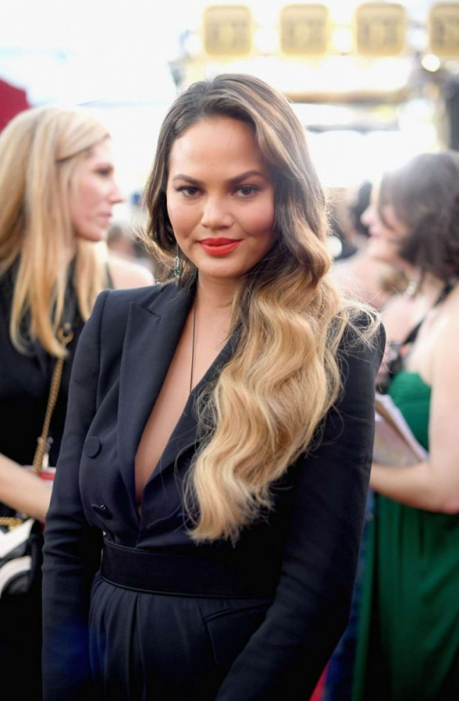 Chrissy Teigen - 2017 Screen Actors Guild Awards in Los Angeles