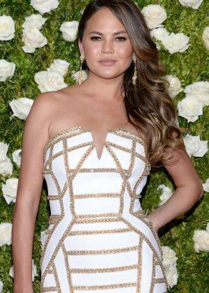 Chrissy Teigen - 2017 Tony Awards in New York City