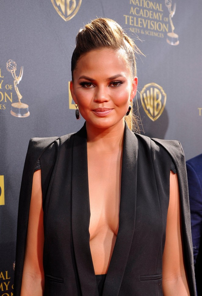 Chrissy Teigen - 2015 Daytime Emmy Awards in Burbank