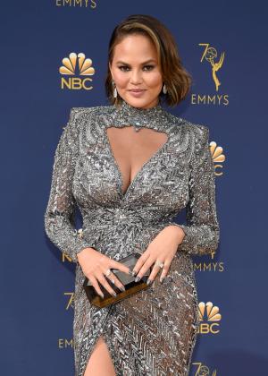 Chrissy Teigen - 2018 Emmy Awards in LA