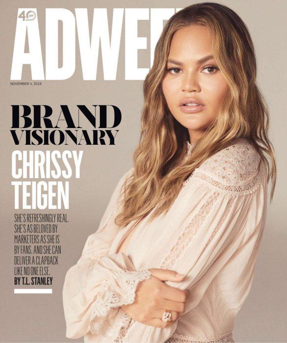 Chrissy Teigen - Adweek Magazine (November 2019)