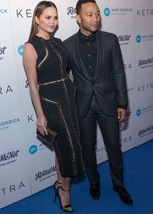 Chrissy Teigen - Andy Roddick Foundation Gala in Austin