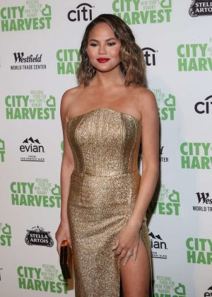 Chrissy Teigen - City Harvest's 23rd Annual Gala in NY
