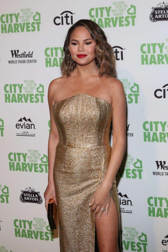 Chrissy Teigen – City Harvest's 23rd Annual Gala in NY
