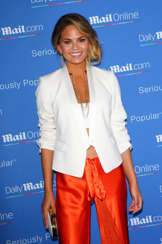 Chrissy Teigen – DailyMail.com Yacht Party in Cannes