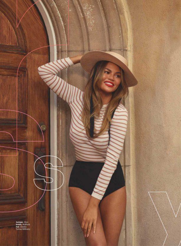 Chrissy Teigen - Glamour Magazine (UK - March 2020 issue)