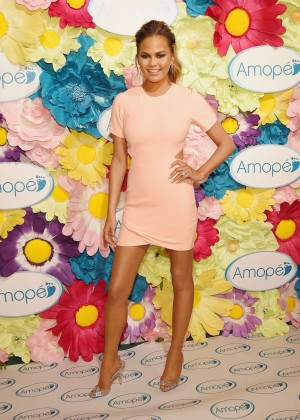 "Chrissy Teigen - ""Glass-Slipper-Ready"" Pedicure Event in NYC"