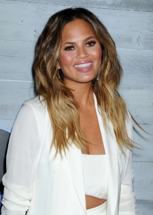 Chrissy Teigen - go90 Social Entertainment Platform Sneek Peek in LA
