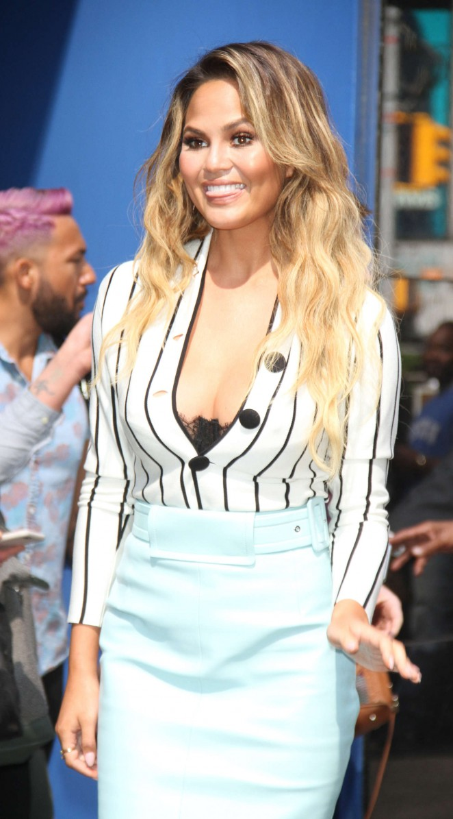 Chrissy Teigen - 'Good Morning America' in New York City