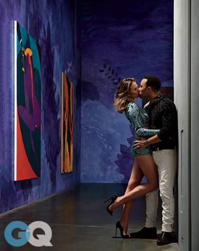 Chrissy Teigen & John Legend - GQ Magazine (February 2015)
