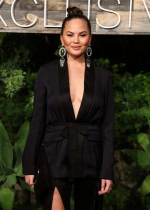 Chrissy Teigen - H&M Conscious Exclusive Collection Dinner in Los Angeles
