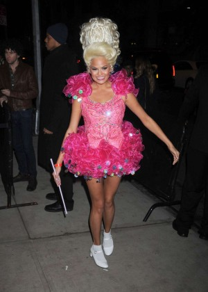 Chrissy Teigen - Heidi Klum Halloween Party 2015 in NY