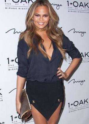 Chrissy Teigen - Hosting a Pre-Billboard Music Award Celebration in Las Vegas