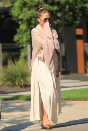Chrissy Teigen - Is pictured in Los Angeles