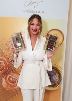 Chrissy Teigen - Launch of BECCA x Chrissy Cravings Collection in Los Angeles