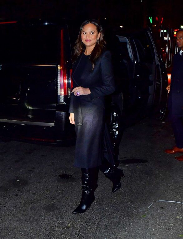 Chrissy Teigen - Night Out in New York