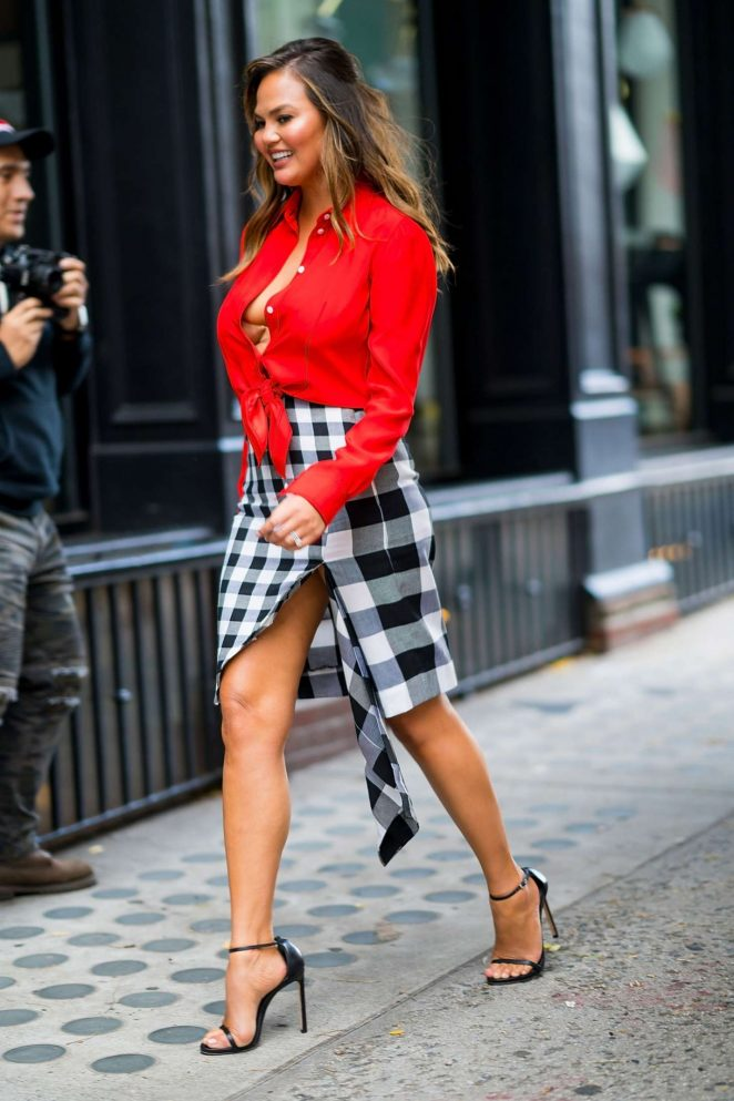 Chrissy Teigen - Out in New York City