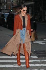 Chrissy Teigen - Out in New York