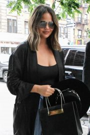 Chrissy Teigen - Out in New York