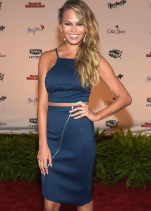 Chrissy Teigen - SI 2015 Swimsuit Takes Over the Schermerhorn Symphony Center in Nashville