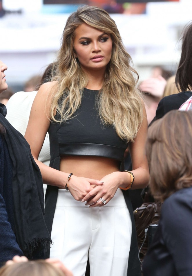 "Chrissy Teigen - Sports Illustrated ""Swim City"" Event in NYC"