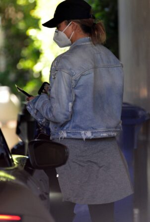 Chrissy Teigen - Spotted out and about in West Hollywood