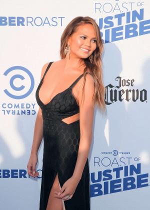 Chrissy Teigen - The Comedy Central Roast Of Justin Bieber in LA