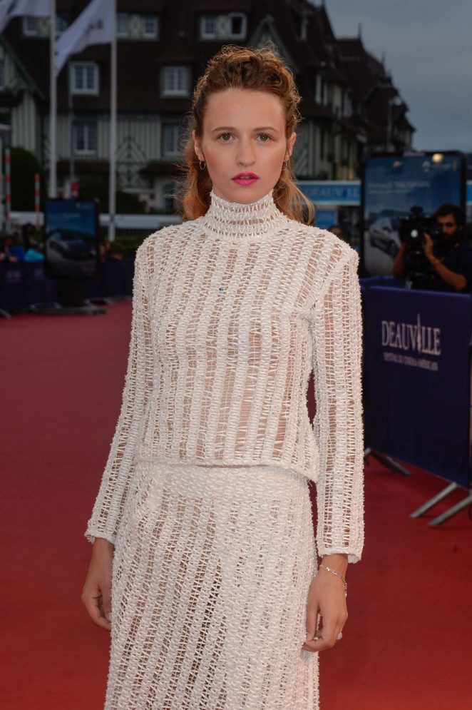 Christa Theret - 'In Dubious Battle' Premiere at 42nd Deauville American Film Festival in France