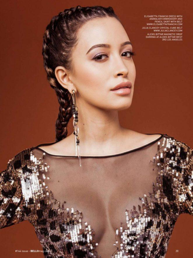 Christian Serratos - Bello Magazine 2017