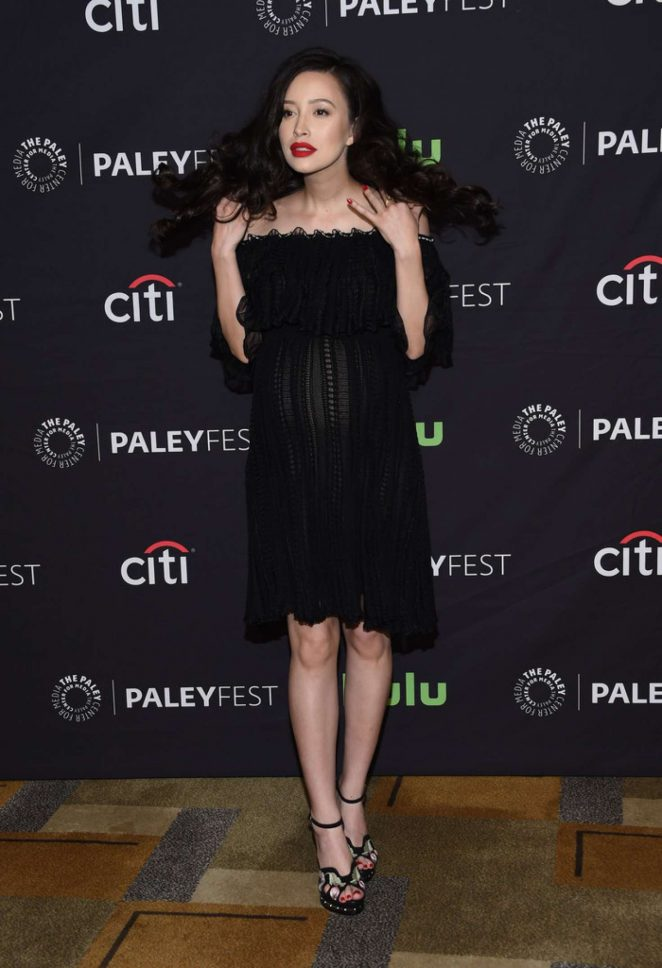 Christian Serratos – 'The Walking Dead' TV Series Presentation for Paleyfest in LA