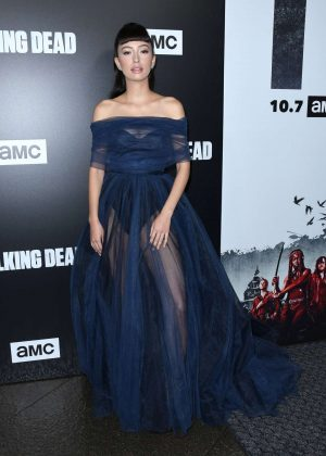Christian Serratos - 'The Walking Dead' TV Show Screening in LA