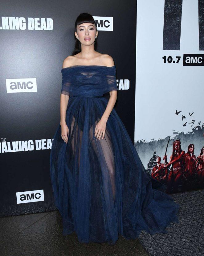Christian Serratos – 'The Walking Dead' TV Show Screening in LA
