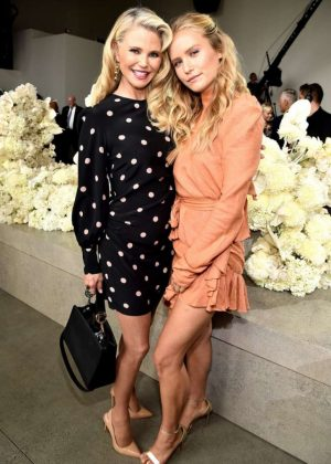 Christie and Sailor Brinkley - Zimmermann Fashion Show in NYC