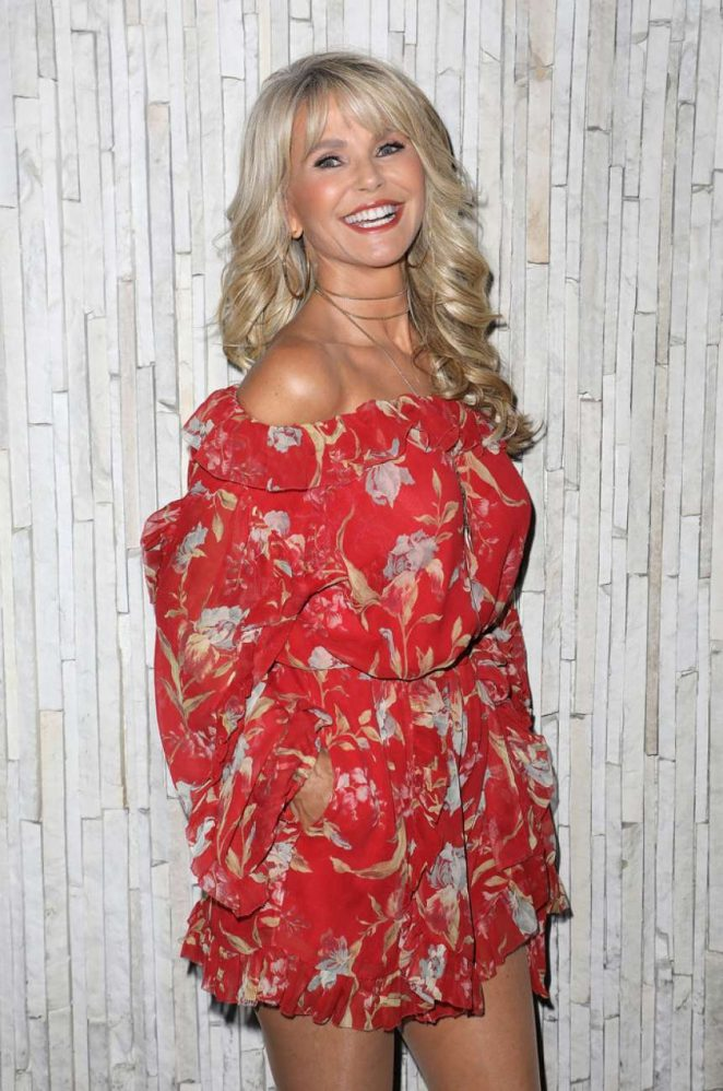 Christie Brinkley – 2018 Sports Illustrated Swimsuit Model Casting in Miami